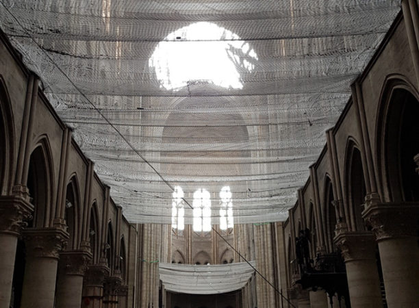 Notre Dame netting