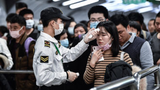 Health screening in Guangzhou