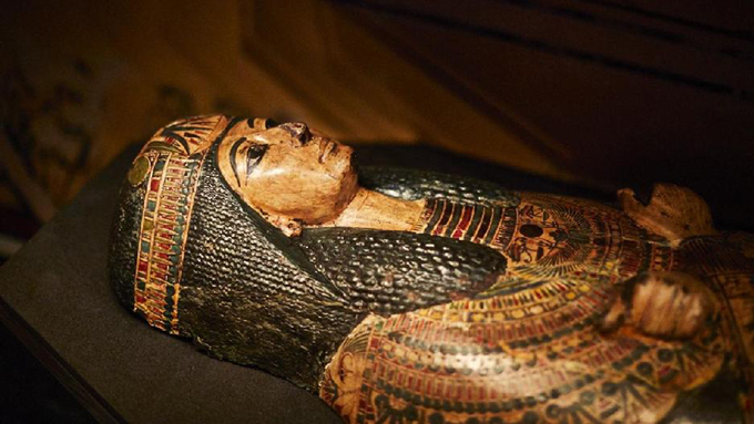 Nesyamun mummy coffin