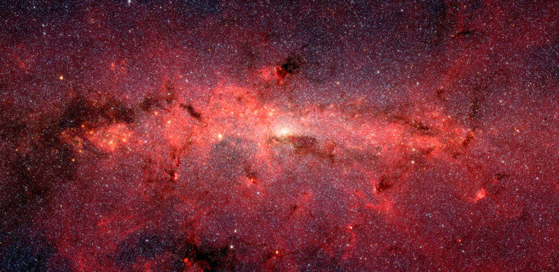 Spitzer galaxy image