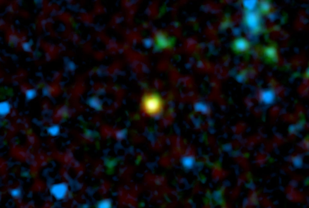 galaxy 10 billion light-years away