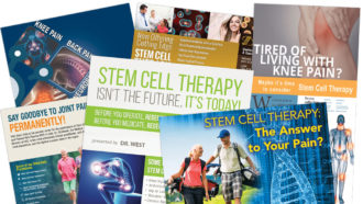 Stem cell treatment ads