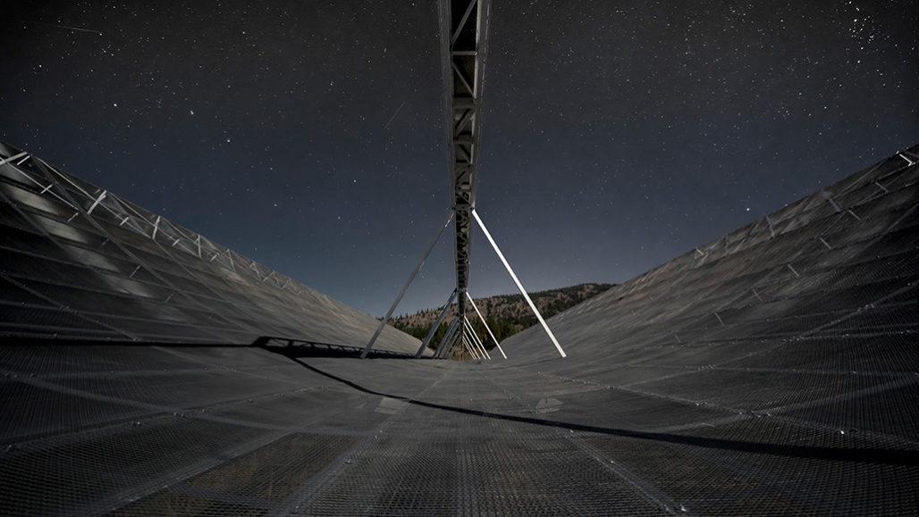 CHIME radio telescope