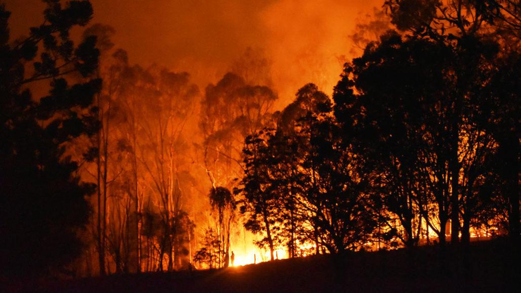 Queensland Australia wildfire