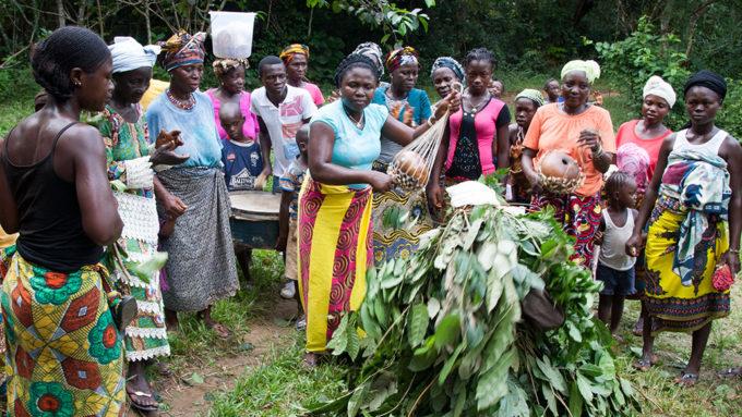 Mende people in Sierra Leone