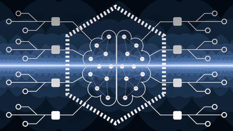 artificial neural network illustration