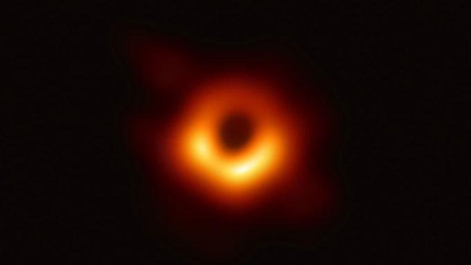 EHT black hole image