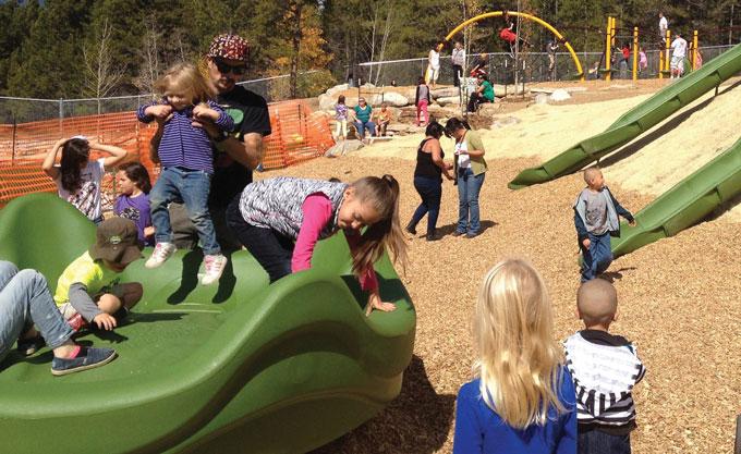 Colorado playground