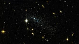 Leo P galaxy