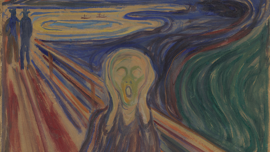 Moisture Is Deteriorating The Iconic Painting The Scream Science News