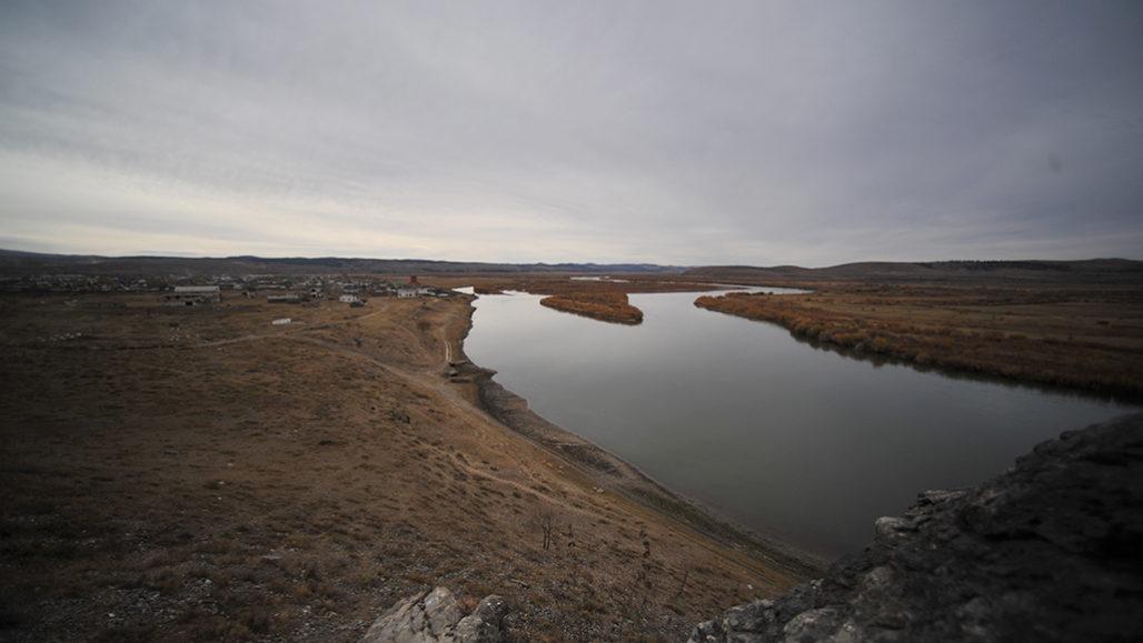 Siberia's Selenga River
