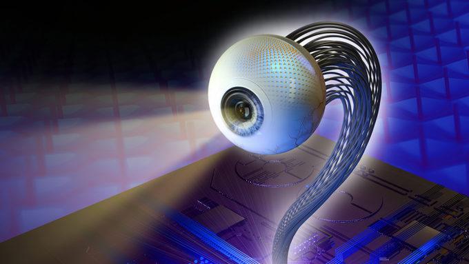 artificial eyeball illustration