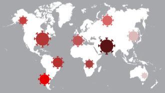 coronavirus global graphic
