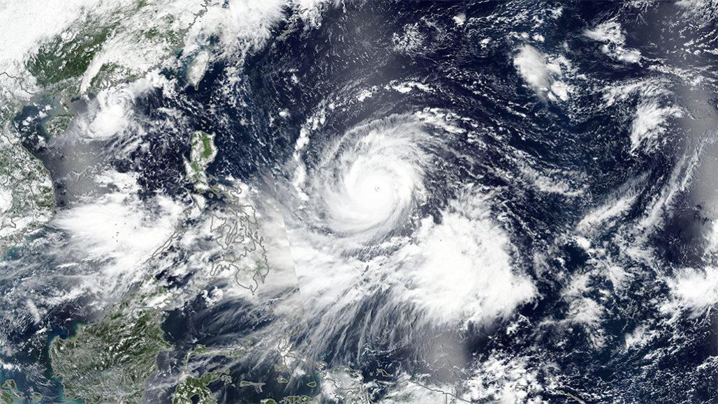 Super-typhoon Mangkhut