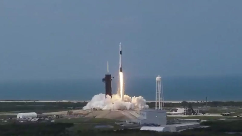 SpaceX's astronaut launch marks a milestone for commercial spaceflight