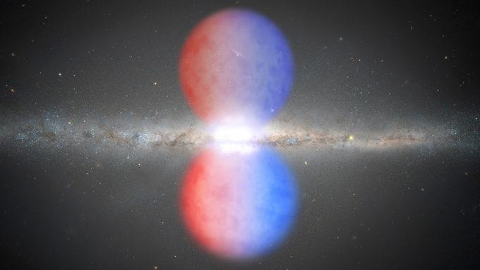Fermi bubble illustration