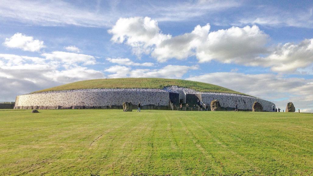 Ireland's Newgrange passage tomb