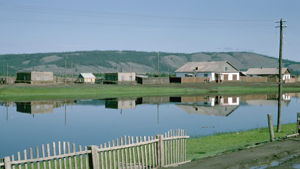 Siberian town of Verkhoyansk