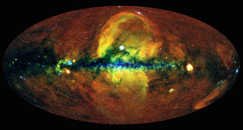 X-ray map of sky