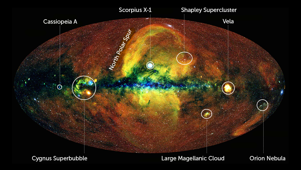 This is the most comprehensive X-ray map of the sky ever made