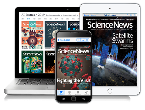 Digital Screens for Science News