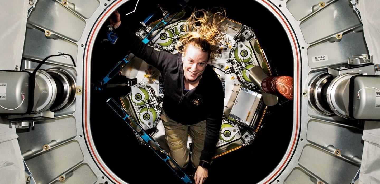 Kate Rubins on the ISS