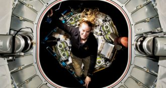 Kate Rubins on the ISS