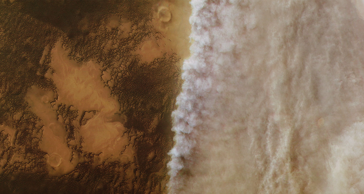 How upcoming missions to Mars will help predict its wild dust