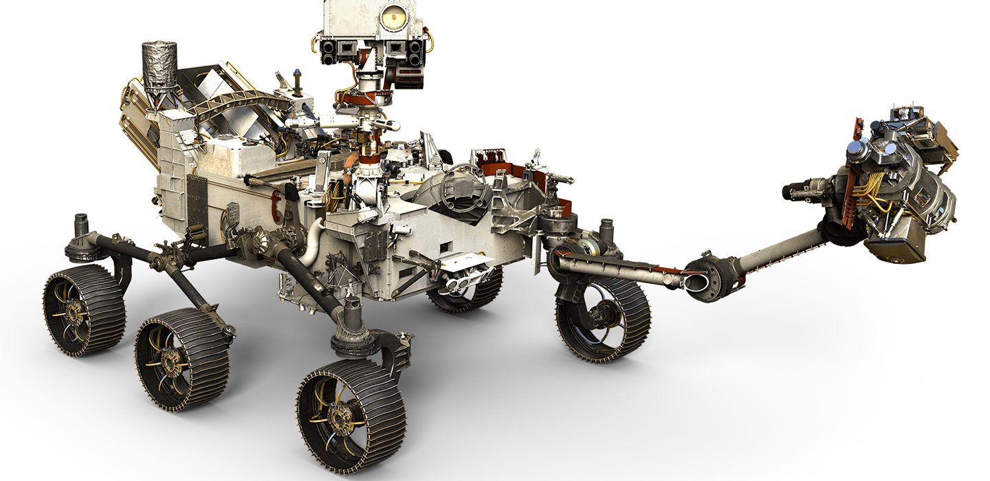 Image of the Perseverance rover