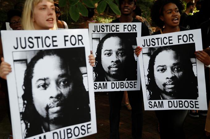 DuBose protest