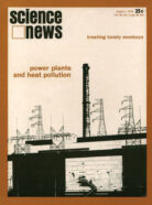 Science News August 1, 1970 cover