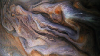 Jupiter clouds