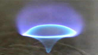 blue whirl flame