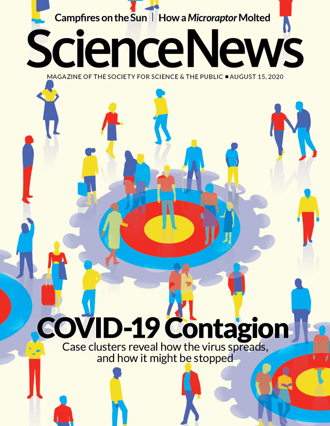 cover of August 15, 2020 issue
