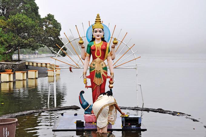 Offering to Lakshmi