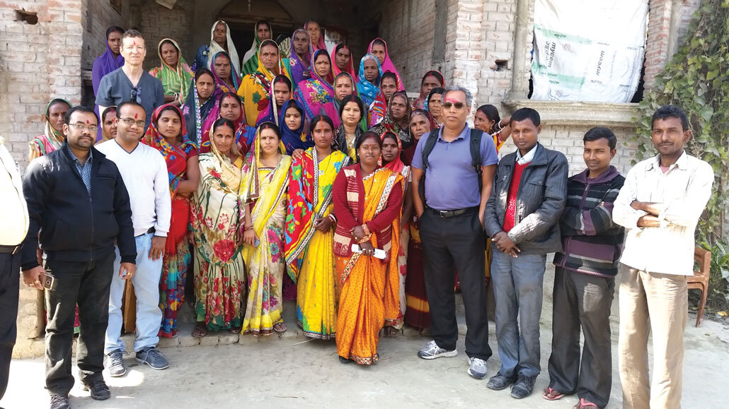 Climate scientists and farmers in Northern India