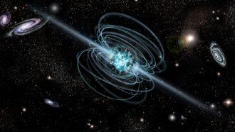 Magnetar illustration