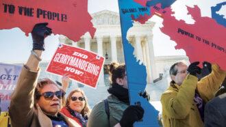 gerrymandering protesters