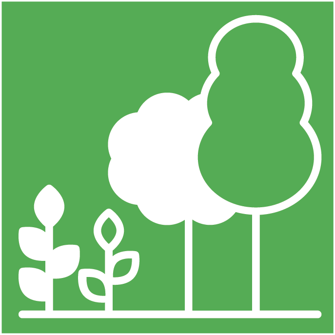 Neighboring plants icon