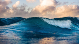 Underwater earthquakes' sound waves reveal changes in ocean warming
