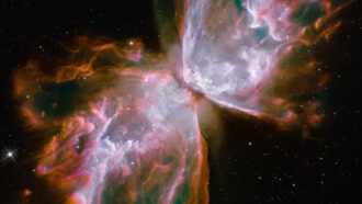 NGC 6302 planetary nebula