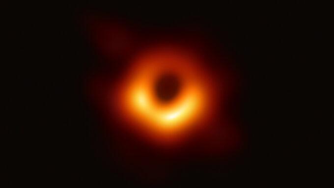 EHT M87 black hole image