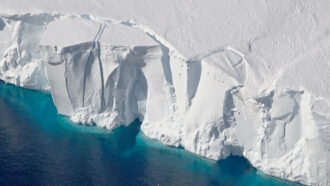 Global warming may lead to practically irreversible Antarctic melting
