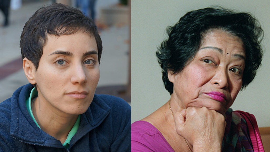 Maryam Mirzakhani and Shakuntala Devi