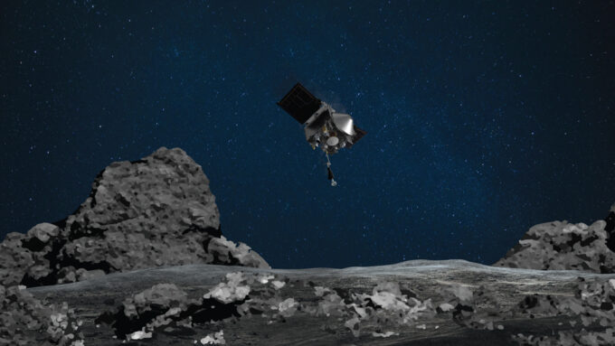 OSIRIS-REx spacecraft illustration
