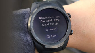 SoundWatch smartwatch app