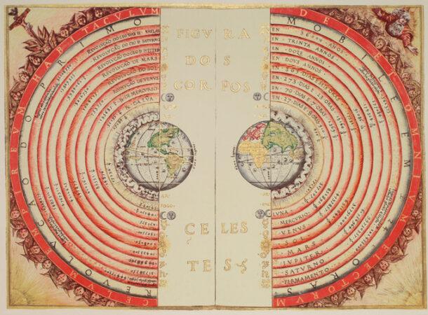 geocentric map