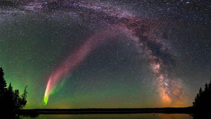 STEVE sky glow