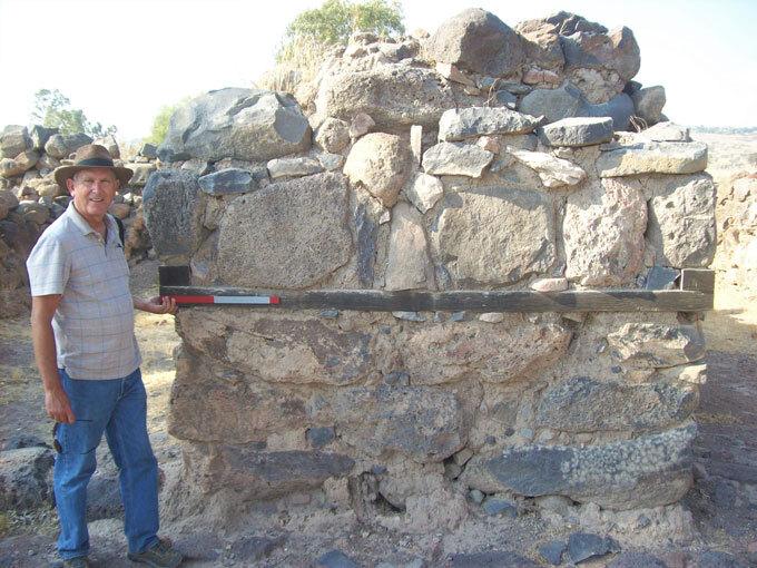 Iron Age gateway at et-Tell