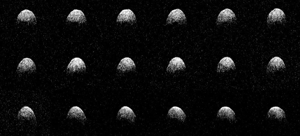 Radar images of Phaethon